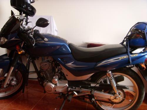Moto jialing gold 135