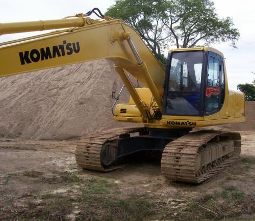 Venta excavadora komatsu pc200-6 1995