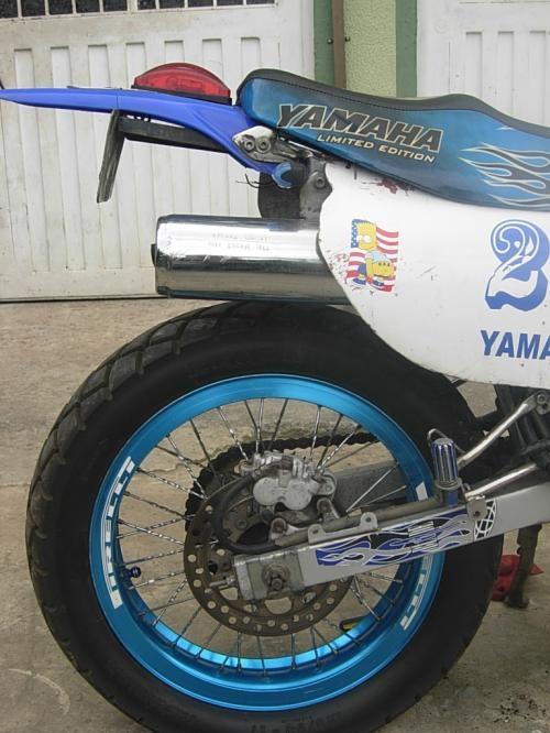 Venpermuto yamaha xt 250 personalizada y recien reparada
