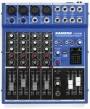 Mixer de Grabación Samson MDR_6 + 4 micrófonos con bases Proel