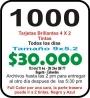 TARJETAS DE PRESENTACION AL MEJOR ESTILO CORPORATIVO.