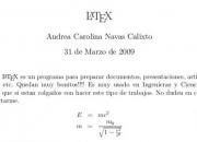 Clases y trabajos de latex - química - artículos científicos