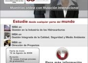 MAESTRÍA ONLINE EN DIRECCIÓN DE PROYECTOS