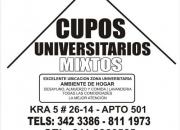 CUPOS UNIVERSITARIOS
