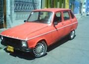 Renault 6 modelo 83 motor 1300