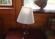 Venta de mesa centro y lampara