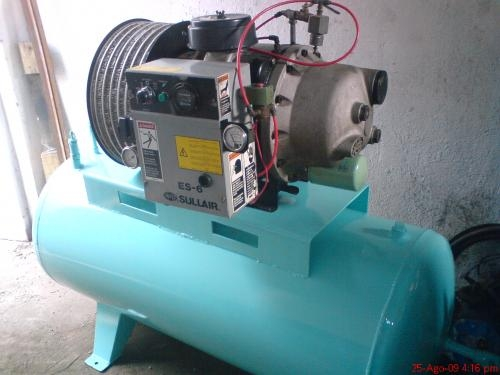 Compresor sullair de 10 hp 40 cfms