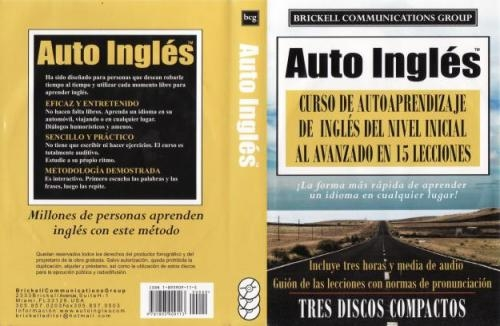 Curso auto ingles total completisimo,regalo $35.000