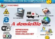 Servicios integrado en el Área  técnica y soporte computadores impresoras consolas