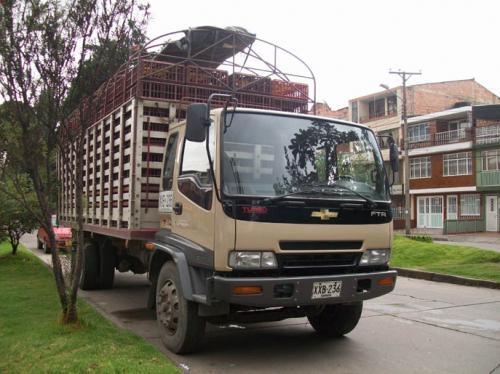 Vendo camion chevrolet ftr excelente estado