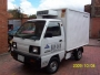 Camioneta Supercarry 2002 placa publica thermoking aislado