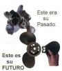 HELICES CON PALAS INTERCAMBIABLES PARA MOTORES YAMAHA DE 9 A 280 HP
