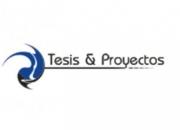 ELABORACION DE TESIS Y PROYECTOS