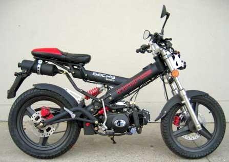 Compro moto sachs madass usada