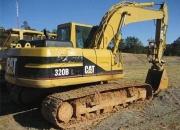 Excavadora cat320bl-2000