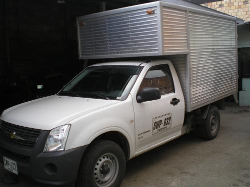 Alquiler camioneta dmax