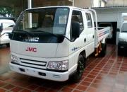 SE ALQUILA CAMION DOBLE CABINA JMC. 2.4 ton.
