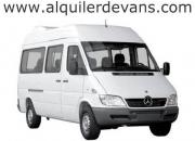 Alquiler de vans transporte camionetas