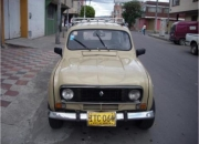 Vendo Renault 4,  vendo reanault r4 modelo 75, r4 vendo en bogota,