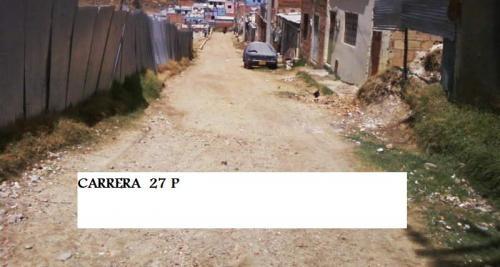 Vendo lote barrio paraiso 6 x 12