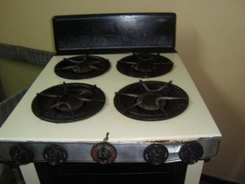 Estufa a gas haceb 4 puestos con horno
