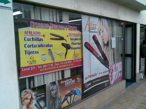 Reparacion y venta articulos para peluqueria acreditado 2497196
