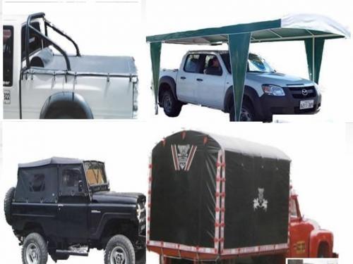 Fabricacion y reparacion carpas para camion, camping, parasoles