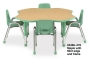 se vende mobiliario educativo, (sillas, mesas, cojineria, estanteria) en bogota