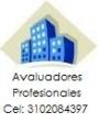AVALUOS COMERCIALES: Celular 3102084397