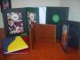 encuadernacion tapas duras abullonadas albumes portadiplomas