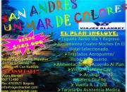 SAN ANDRES MAR DE COLORES CON VIAJES BLANBET