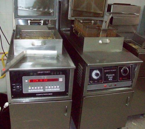 Vendo maquinas pollo broaster
