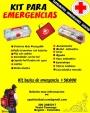 kit de emergencias catástrofes terremotos
