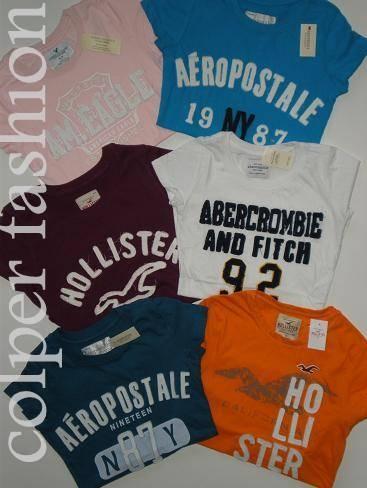 Abercrombie,hollister,lacoste,polo, ropa de marca