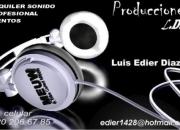 DJ  Alquiler de  sonido para  eventos