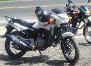 vendo mota honda cbz blanca 160
