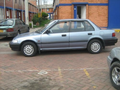Honda civic modelo 1991 azul celeste
