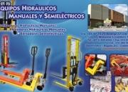 VENDEMOS ESTIBADORAS HIDRAULICAS MANUALES Y ELEVADORES IMPORTADOR DIRECTO
