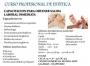 CURSO PROFESIONAL DE ESTETICA