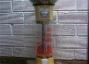 Dispensadora de chicle menta o pelota saltarina y maquinas electromecanicas
