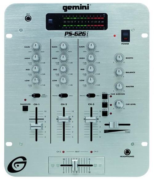 Mezclador gemini dj mixer parametrico usado en perfectas condiciones solo $195.000