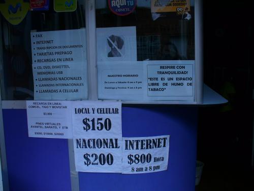 Vendo cabinas telefonicas e internet