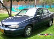 Vendo lindodaewooracer, sedan azul modelo 1995,…