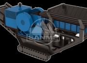 SANME: Trituradora móvil con oruga