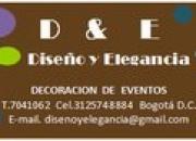 DECORACION Y ORGANIZACION DE EVENTOS
