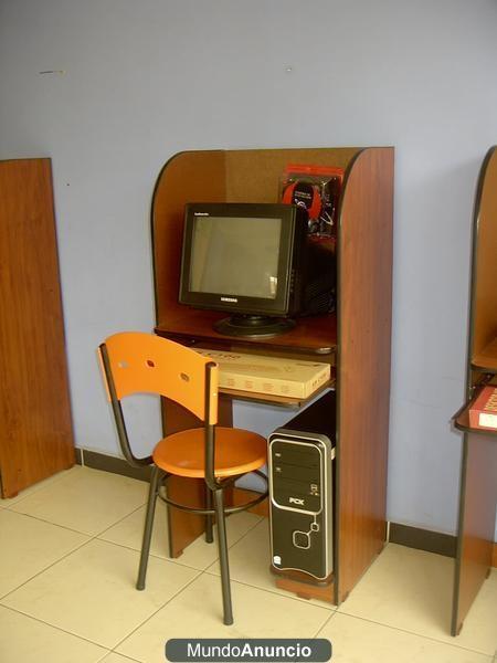 Venta montaje de cafe internet