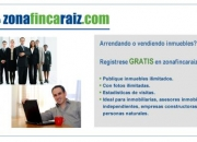 Publique sus inmuebles GRATIS en zonafincaraiz.com
