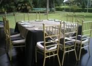 Venta y alquiler de sillas tiffany / carpas gigantes/ tarimas sonido