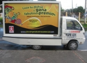 alquiler de vallas moviles, perifoneo, patinadoras pbx 4098000 bemel publicidad