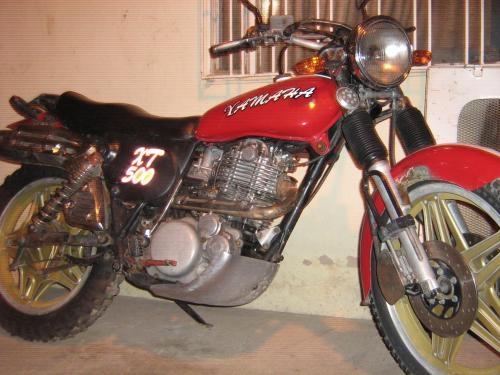 Fotos de Moto yamaha xt 500 2